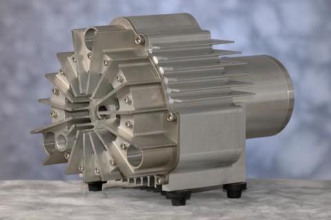 Semi-Hermetic Scroll Compressor and Vacuum Pump