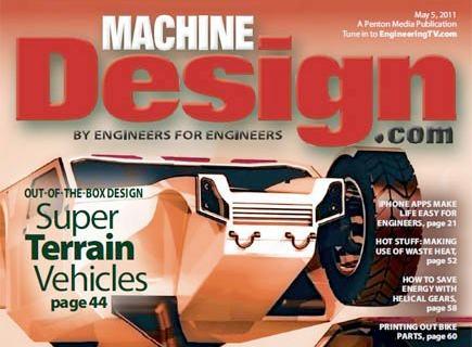 Air Squared featured in Machine Design magazine