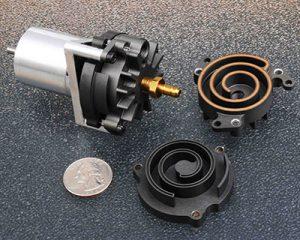 Miniature Scroll Compressor
