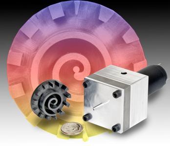 Miniature Scroll Refrigeration Compressor
