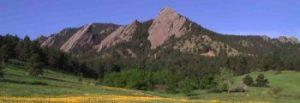 Mountains near Broomfield CO