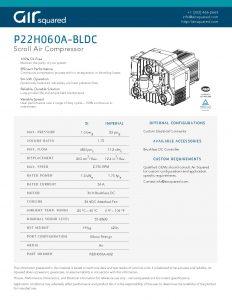 P22h060a Bldc