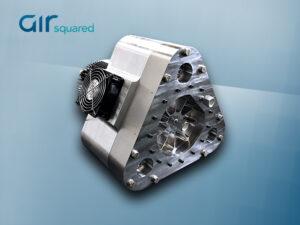 V16H034A-BLDC-H-SS All-Metal Hermetic Scroll Vacuum Pump