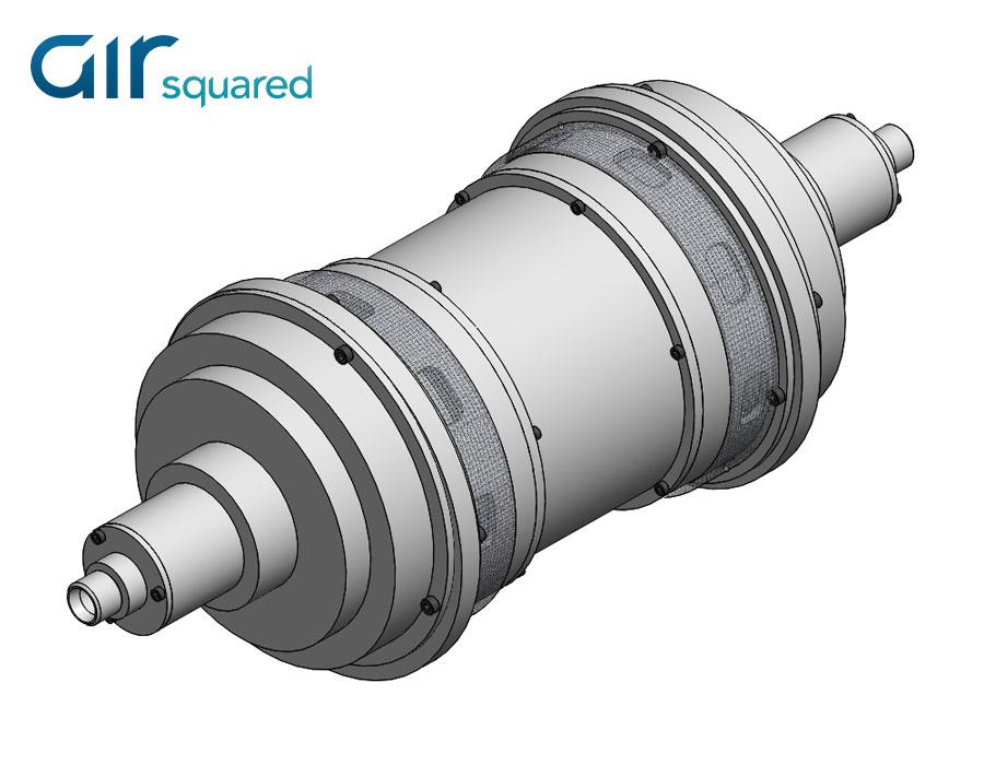 Multi-Stage Scroll Compressor Concept