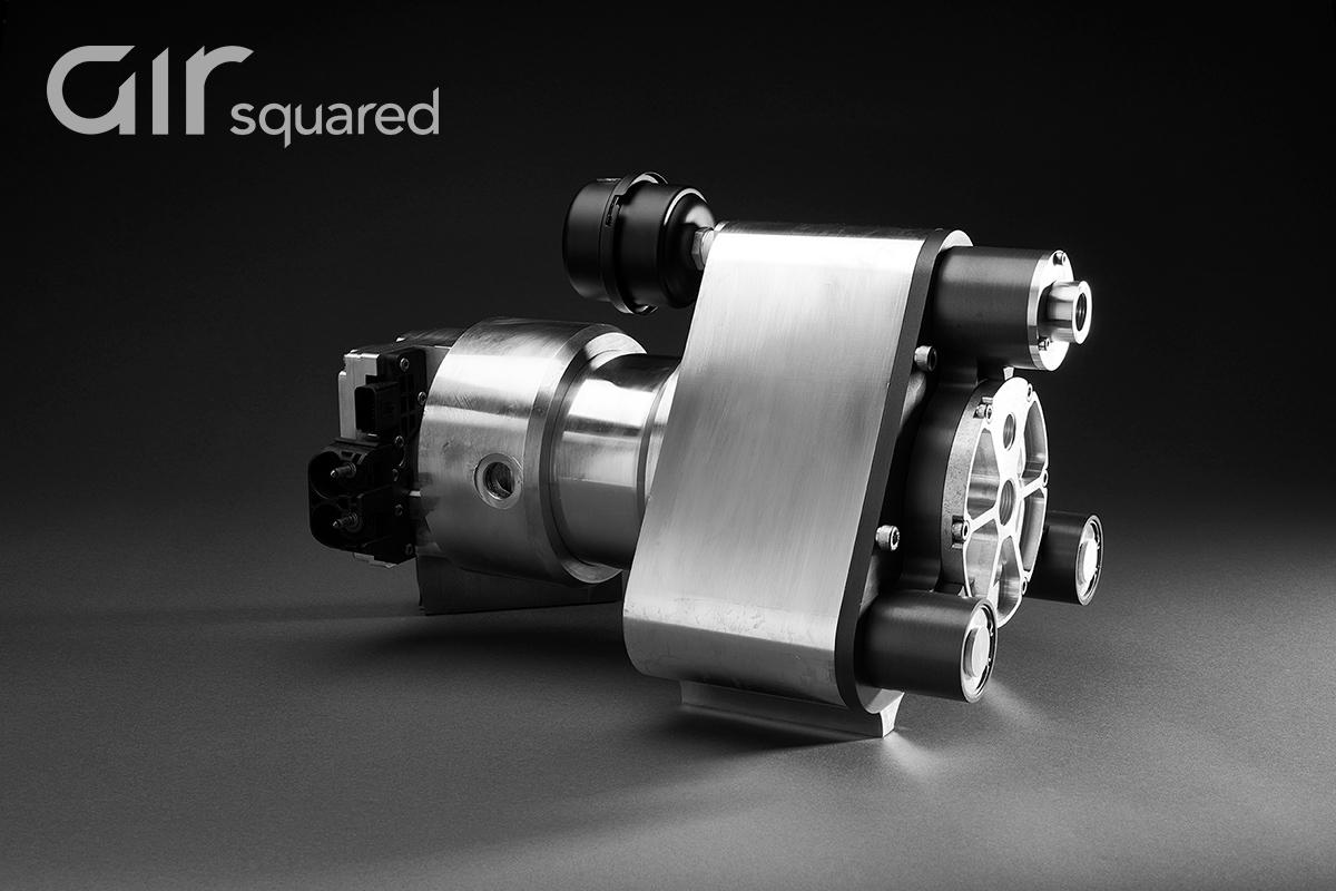 P16H030E-BLDC-LC Liquid-Cooled Scroll Compressor
