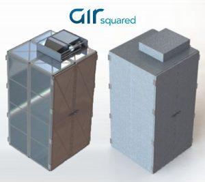 Zero-Gravity Vapor-Compression Refrigerator (ZVCR) Concept Rendering