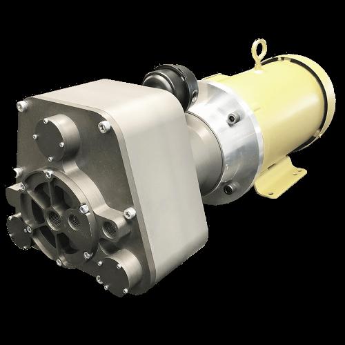 P17H043B-AC-LC-7HP Liquid-Cooled Scroll Compressor