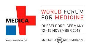 MEDICA 2018 Logo