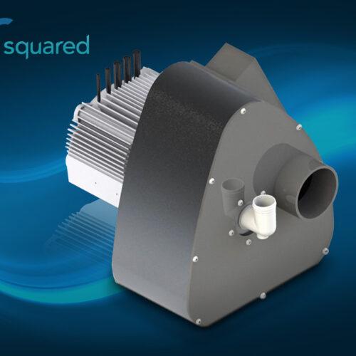 High-Capacity Scroll Compressor Concept Rendering for INTEGRATE Program