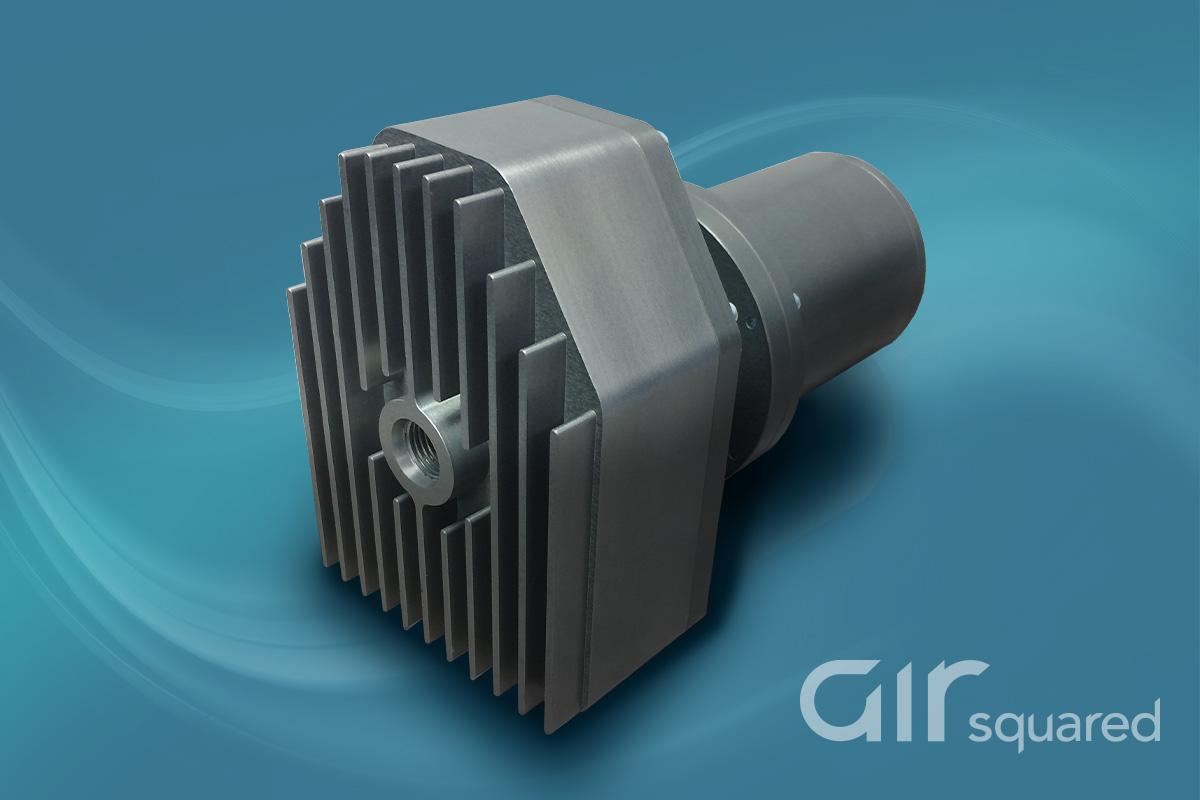 P07T013A-BLDC-C-SH Two-Stage, Semi-Hermetic Scroll Compressor