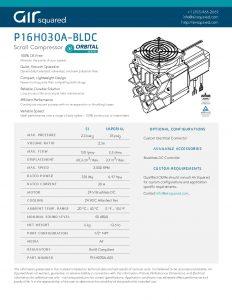 P16h030a Bldc