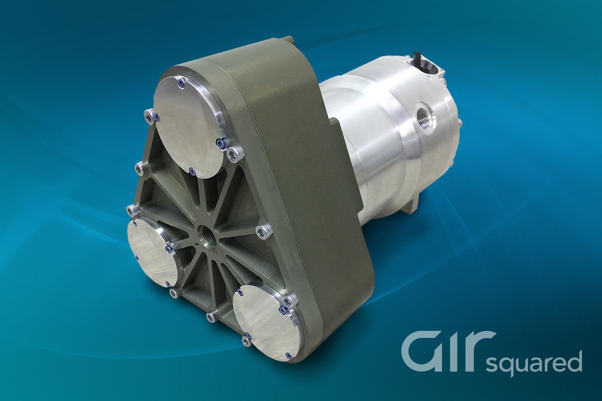Oil-Free Scroll Refrigeration Compressor for Aerospace | Air