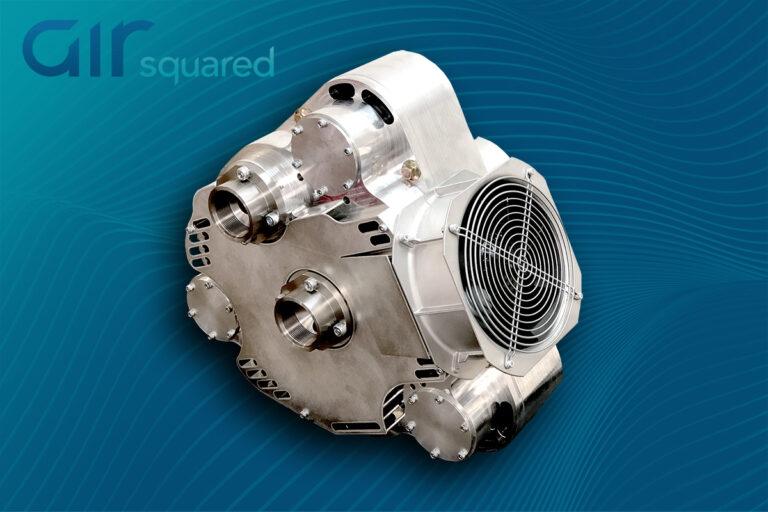 P38H083B-IND High-Flow, Oil-Free, Scroll Compressor