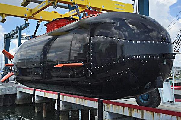 The S351 Dry Combat Submersible Prototype