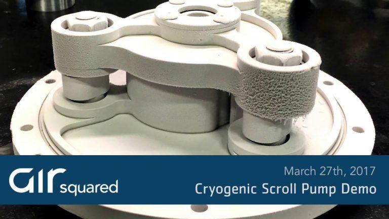 Cryogenic Scroll Pump Demo Video